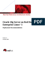 Oracle 10g Recommendations v11.2
