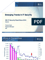 Trends in Security 2010