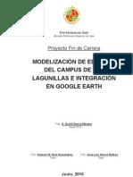 MODELIZACIÓN DE EDIFICIOS DEL CAMPUS DE LAS LAGUNILLAS E INTEGRACIÓN EN GOOGLE EARTH