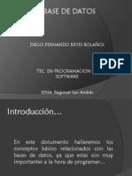 Fundamentos Base de Datos-Diego Reyes
