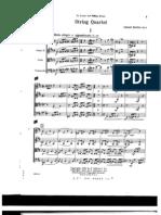 Barber - String Quartet Op.11
