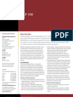 SP 500 Factsheet