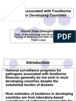Foodborne Illnesses in Developing Countries