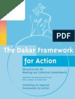 Forum Educacao Dakar 2000