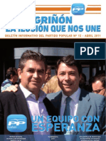 PARTIDO POPULAR DE GRIÑON-Revista 15