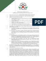MP Bangiya Parishad Constitution