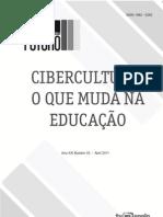 Cibercultura o que muda na educação