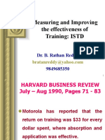 Evalution of Training ISTD 7