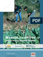 Inta - Manual Cultivos Para Huerta Organica Familiar