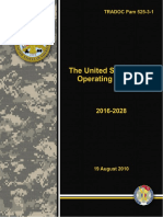 US Army Operations Concept 2016 - 2028