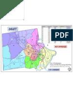 Re-Precincting Map for Northampton, Mass. 2011