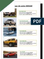 Catalogo de la agencia de autos