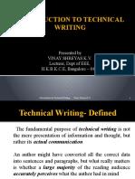 Techical Writing