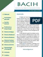 Boletín del Aula Canaria de Investigación Histórica nº 4 (BACIH 4) 2011