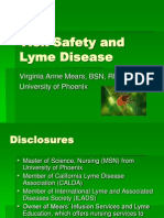 Tick Safety and Lyme Disease MSN