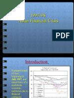 1997-98 Asian Financial Crisis