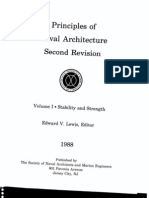 Principles of Naval Architecture Vol I - Stability and Strength
