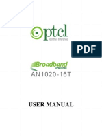 AN1020-16T User Manual
