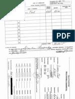 Bob Healy's credit card statements
