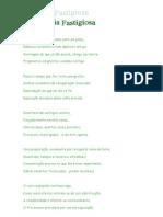 Poema Monotonia Fastigiosa