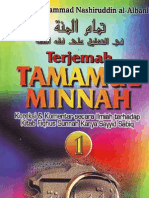 Tamaamul Minnatu Fii Ta'liiqi 'Alaa Fiqhus Sunnah Buku 1 bagian A