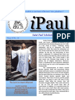 iPaul no.14 - Saint Paul Scholasticate Newsletter