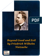Beyond Good and Evil by Friedrich Wilhelm Nietzsche