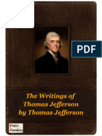 The Writings of Thomas Jefferson by Thomas Jefferson