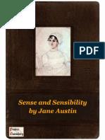 Sense and Sensibility by Jane Austin