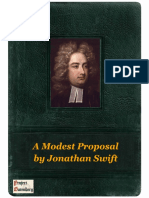 A Modest Proposal by Jonathan Swift