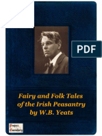 Fairy and Folk Tales of the Irish Peasantry by WB Yeats