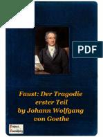 Faust Der Tragodie erster Teil  by Johann Wolfgang von Goethe