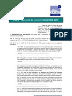 L12034 Mini Reforma Eleitoral