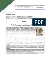 Paulo Freire, Pedagogía del oprimido
