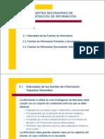 Fuentes Primarias y Sec Und Arias