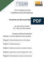Arquitectura de Computadoras.- Proyectos de Micro Control Adores