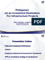 Philippines as an Investment Destination for Infrastructure Projects