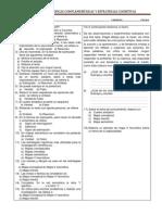 Evaluación- Técnicas complementarias y estrategias cognitivas