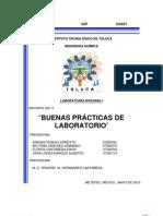 REPORTE 0 BUENAS PRÁCTICAS DE LABORATORIO