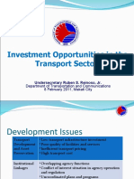 Investment Opportunities in the Transport Sector (Railways and Airports)