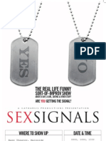 Sex Signals Time Dates 26 APR