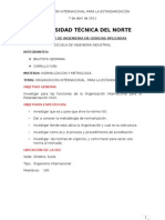 Organizacion Internacional Para La Estandarizacion