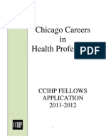 Ccihp Fellows Application 2011-2012