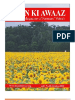 OCTOBER 2010 National Magazine of Farmers Voice