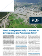 Flood Management Why It Matters for Development and Adaptation Policy