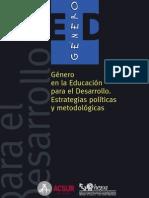 Manual Genero ED
