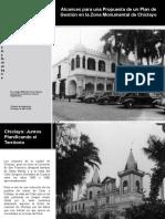 Alcances para una Propuesta de un Plan de Gestión en la Zona Monumental de Chiclayo