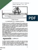 Chailley J.,Le monochorde et la theorie musicale
