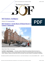 BoF Exclusive | At the Heart of Mount Street's Transformation is a Luxury Community − BoF – The Business of Fashion