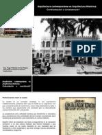 Arquitectura contemporánea vs Arquitectura Histórica